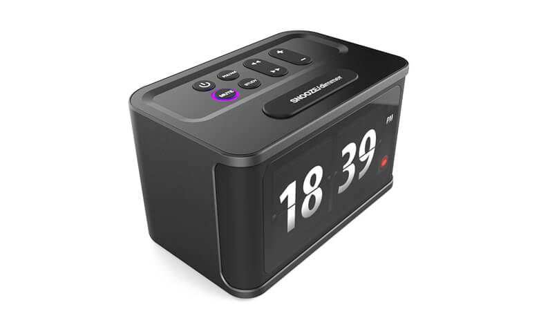 Sparky -Voice Activated Clock Radio With 43 Inch Touch Screen Voice Control