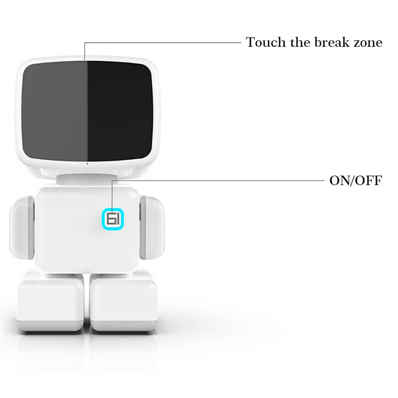 Sparky -Dancing Robot Toy 43 Inch Touch Screen Dancing Robot R1-3