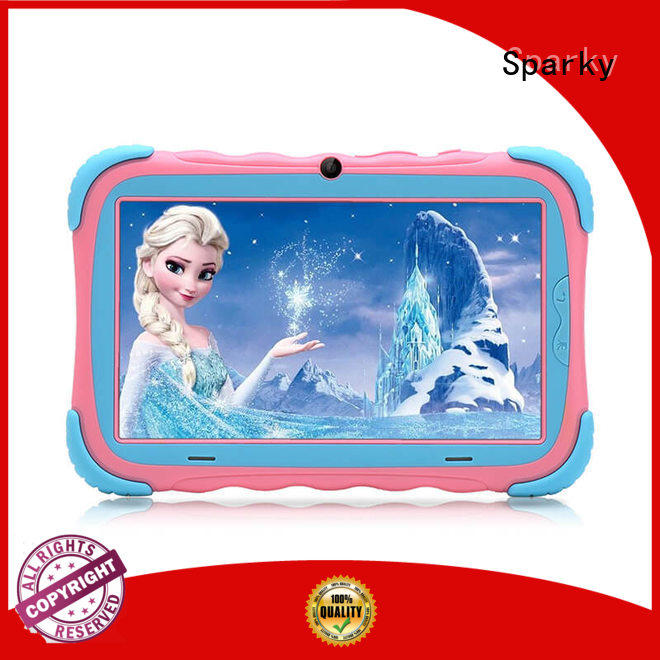 inch cheap tablets for kids pink for amusement Sparky